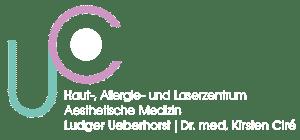 Logo Ueberhorst Cire Footer weiss