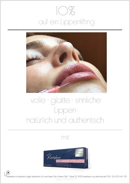 10% auf Lippenlifting